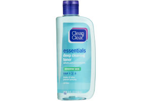 Clean & Clear Essentials Deep Cleaning Toner Sensitive Skin
