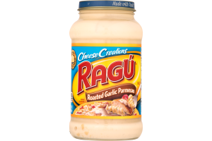 Ragu Cheese Creations Sauce Roasted Garlic Parmesan