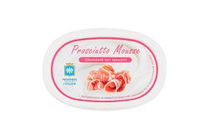 Сир 60% плавлений пастоподібний Шинковий мус прошутто Молочна гільдія п/у 130г