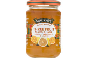 Mackays Three Fruit Marmalade Orange, Grapefruit & Lemon