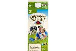 Organic Valley Fat Free Milk