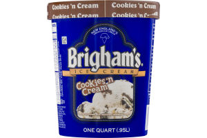 Brigham's Ice Cream Cookies 'n Cream