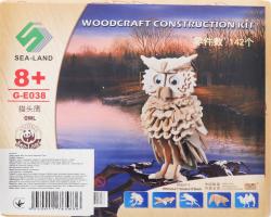 Конструктор Сова деревянный D*-1