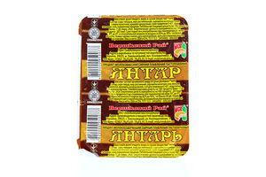 Сыр плавленый Вершковий рай Янтарь 60% лоток 200г