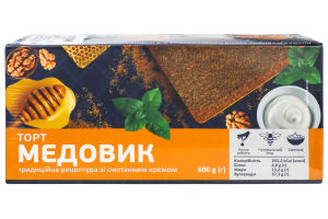 Торт медовик 600г