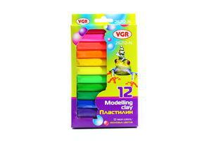 Пластилін VGR 12 кольорів