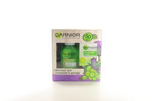 Промонабір Засіб для зняття макіяжу 200мл + зволожуючий крем для нормального типу шкіри Garnier 50мл