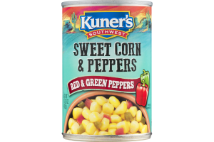 Kuner's Southwest Sweet Corn & Peppers Red & Green Peppers