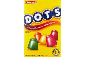 Dots Assorted Fruit Flavored Gumdrops