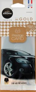 Ароматизатор повітря для автомобіля Gold Prestige Card Aroma Car 1шт