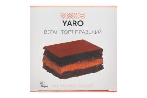 Торт Празький Веган Yaro к/у 140г