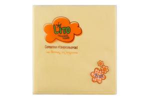 Салфетки бумажные 2-слойные желтые 330х330мм Lito 25шт