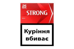 Сигарети з фільтром Red Strong 25шт