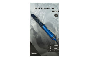Фен-щітка для сушіння та укладання волосся 1000 Вт GHA-819 Grunhelm 1шт