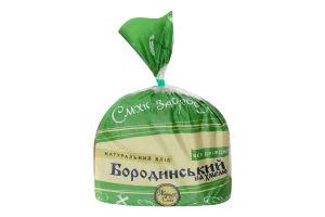 Хлеб натуральный нарезной без дрожжей Бородинский на хмеле Житня Сила м/у 0.5кг