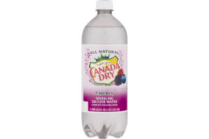 Canada Dry Sparkling Seltzer Water Triple Berry