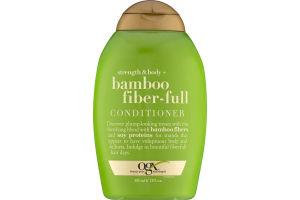 OGX Strength & Body + Bamboo Fiber-Full Conditioner