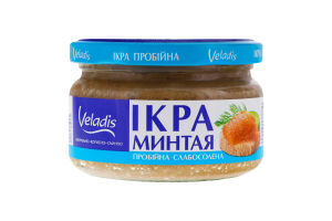 Икра минтая пробойная Veladis сл/с с/б 180г