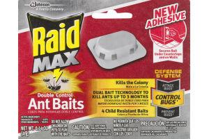 Raid Max Double Control Ant Baits