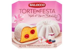 Balocco Torte in Festa Voglia di Yogurt e Frutti di Bosco 400 g