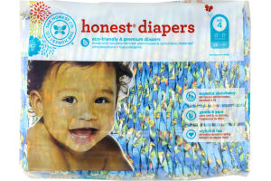 The Honest Co. Honest Diapers King of the Jungle Size 4 - 29 CT