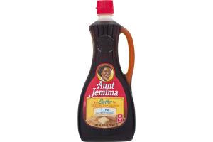 Aunt Jemima Natural Butter Flavor Lite Syrup