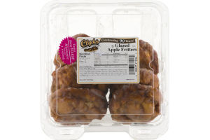Clyde's Delicious Donuts Glazed Apple Fritters