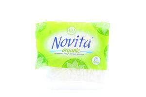 Палочки ватные organic Novita 100шт