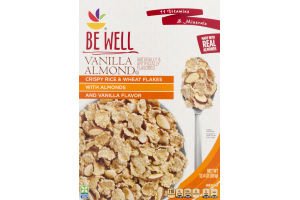 Ahold Be Well Crispy Rice & Wheat Flake Cereal Vanilla Almond