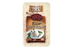 Рис длиннозернистый World's Rice м/у 500г
