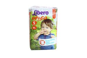 Підгузники-трусики Libero Up&Go 5 10-14кг 48шт x6