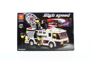 Конструктор Лігао Поліц.фургон 040225