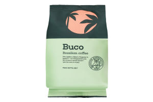 Кава натуральна смажена Brazilian coffee Buco м/у 225г