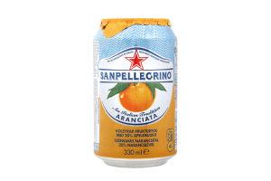 Напій Sanpellegrino Aranciata 330 мл ж/б