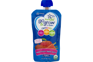 Go & Grow By Similac OptiGRO Puree Pouch Sweet Potato, Apple, Carrot