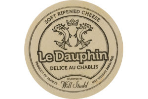 Le Dauphin Soft Ripened Cheese