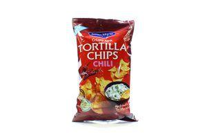 Кукурузные чипсы со вкусом чили Santa Maria м/у 185г