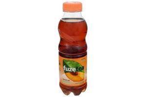 Напій безалкогольний негазований Чорний чай зі смаком персика Fuzetea п/пл 500мл