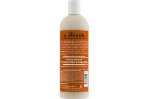 c. Booth Honey Almond Nourishing Bath & Body Wash