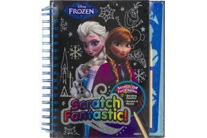 Disney Frozen Scratch-off Book