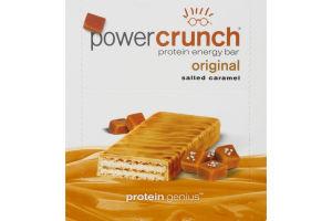 Power Crunch Protein Energy Bar Original Salted Caramel - 12 CT