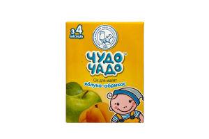 Сок для детей от 3мес Яблоко-абрикос Чудо-Чадо т/п 0.2л