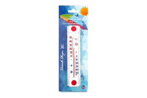 Сувенір Термометр побутовий віконний Сонячна парасолька 2