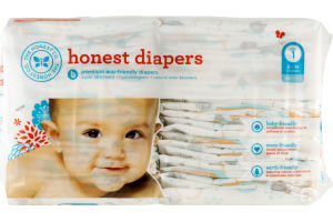 The Honest Co. Honest Diapers Size 1 - 44 CT