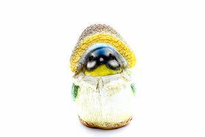 Садова фігура Синиця в капелюсі 13,5*8,5*12,5см