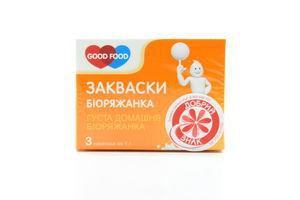 Закваска Good Food бактериальная Биоряженка 3г