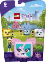 Конструктор для дітей від 6років №41665 Куб-кіт зі Стефані Friends Lego 1шт