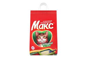 Наполнитель гигиенический средний для котов Макс 2.5кг