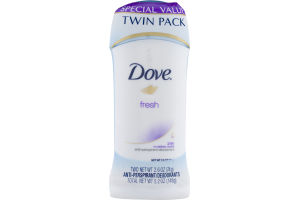 Dove Fresh Anti-Perspirant/Deodorants - 2 PK