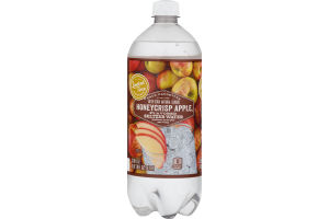 Ahold Flavored Seltzer Water Honeycrisp Apple